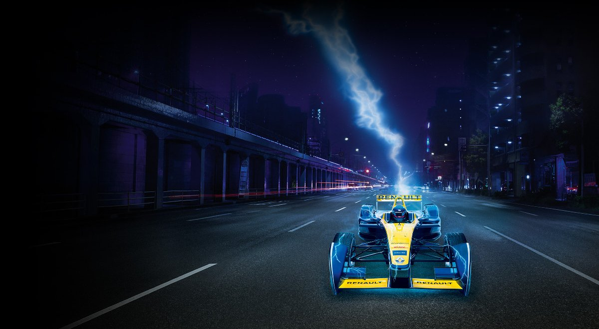 Support Renault e.dams for the final race of the season