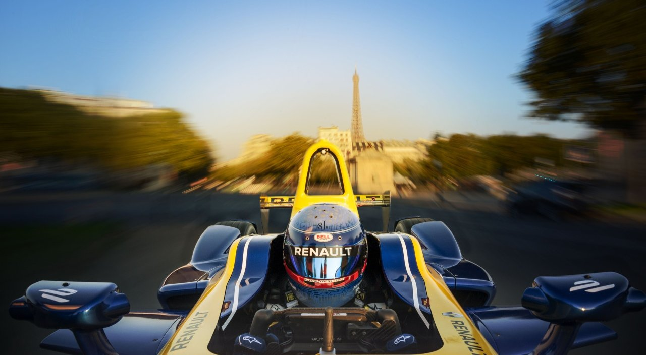 Formula E : Renault will be a partner of the Championship's Paris ePrix on April 23th