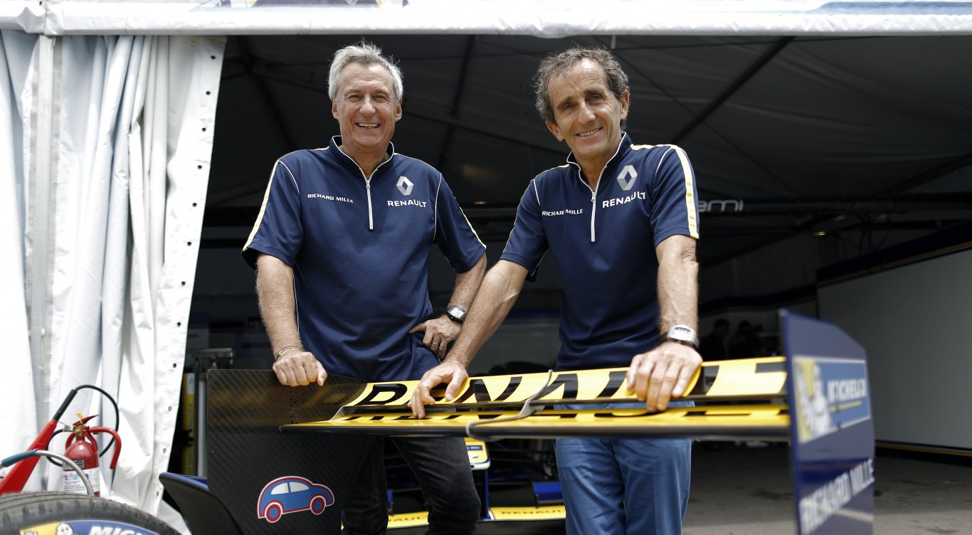 Punta del Este ePrix : Alain Prost and Jean-Paul Driot debrief