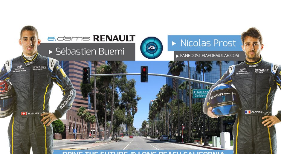 e.Dams Renault are California-bound