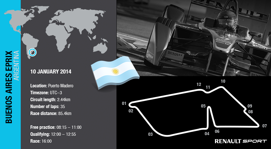 Formula E continues its South American tour